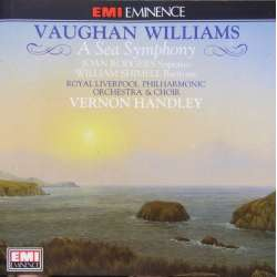Vaughan Williams: Symfoni nr. 1. 'A Sea Symphony' Liverpool PO. Vernon Handley. 1 CD. EMI