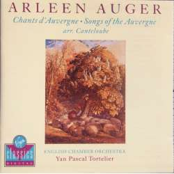 Canteloube: Chants d'Auvergne, Arleen Auger, ECO, Tortelier. 1 CD. Virgin