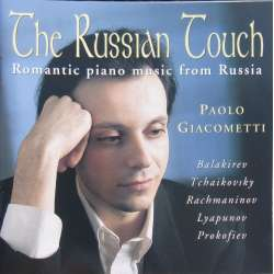 The Russian Touch. Paolo Giacometti. 1 CD. Brilliant Classics