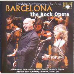 Barcelona. The Rock opera, of Freddie Mercury. 1 CD. Brilliant Classics