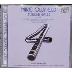 Mike Oldfield Tubular Bells part 1. Sandra og Jeroen van Veen (synthesizer). Marcel Bergmann and Elizabeth Bergmann (piano) 1 CD