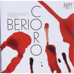 Berio: Coro. Cologne Radio SO. Luciano Berio. 1 CD. Brilliant Classics 9018-2
