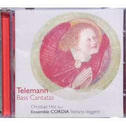 Telemann: Bass Cantatas. Christian Hilz, Cordia Ensemble. Veggetti. 1 CD. Brilliant Classics