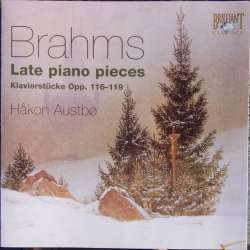 Brahms: Late Piano pieces Op. 116 - 119. Haakon Austbö. 1 CD. Brilliant Classics