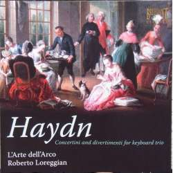 Haydn: 10 Concertini og divertimento for klavertrio. L'Arte dell'Arco. 1 CD. Brilliant Classics