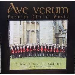 Ave Verum. Cambridge St. John's College Choir. 1 CD. Brilliant Classics
