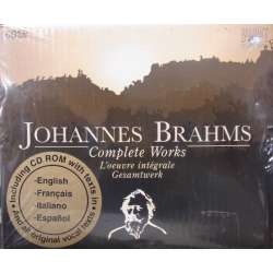 Brahms: Edition. Complete Works. 60 CD. Brilliant Classics.