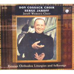 Don Cossack Choir. Russisk orthodox liturgies. Serge Jaroff dirigerer. 2 CD. Brilliant Classics