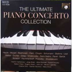 The Ultimate Piano Concerto Collection. Brendel, Kissin, mfl. 30 CD. Brilliant Classics