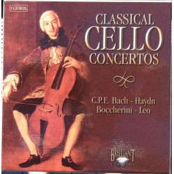 Klassiske Cellokoncerter. Haydn, Boccherini, CPE. Bach. 7 CD. Brilliant Classics. 9219800