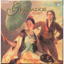 Granados: Complete Piano Works. Thomas Rajna, 6 CD Brilliant Classics
