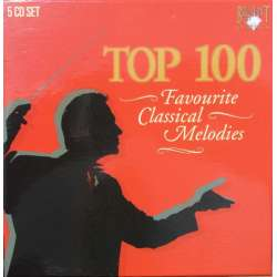 Top 100. Favourite Classical melodies. 5 CD Brilliant Classics
