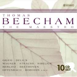 Sir Thomas Beecham: The Maestro. 10 CD. Boks sæt