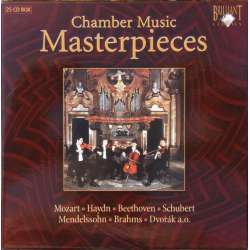 Chamber Music. Masterpieces. 25 CD. Brilliant Classics. New Copy.
