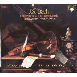 Bach: Koncerter for 2, 3, & 4 cembalos. Musica Amphion. 2 CD. Brilliant Classics