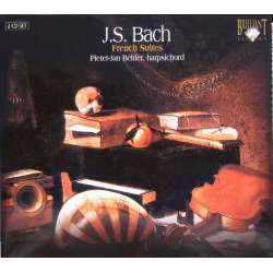 Bach: French suites nos. 1 - 6. Pieter Jan Belder Harpsichord. 2 CD. Brilliant Classics