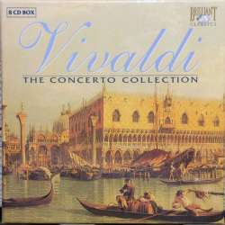 Vivaldi: The Concerto Collection. Trevor Pinnock, The English Concert. 8 CD. Brilliant Classics.
