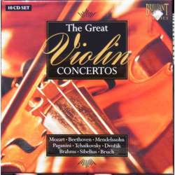 The Great Violin Concertos Collection. 10 CD. Brilliant Classics