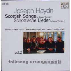 Haydn: Scottish lieder. Haydn Trio Eisenstadt. 4 CD. Brilliant Classics