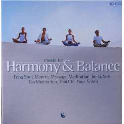 Music for Harmony and balance. Afslapnings musik. 10 CD. Brilliant Classics