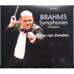 Brahms: The 4 Symphonies. Netherlands PO. Jaap van Zweden. 3 CD. Brilliant Classics