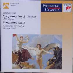 Beethoven: Symphonies nos. 3 & 8 George Szell, Cleveland Symphony Orchestra. 1 CD. Sony.