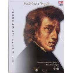 Chopin: Klaverkoncert 1 & 2. Cellosonate. Minut vals, Regndråbe preludie. 2 CD + 1 DVD. Brilliant Classics