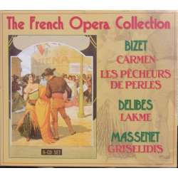 The French opera Collection. Carmen, Perlefiskerne, Lakme, Griselidis. 8 CD. Brilliant Classics