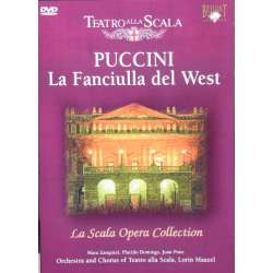 Puccini: La Fanciulla del West. Domingo, Pons. Maazel. 1 DVD. Brilliant Classics