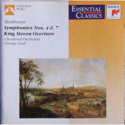 Beethoven: Symphonies nos. 4 & 7. George Szell, Cleveland SO. 1 CD. Sony