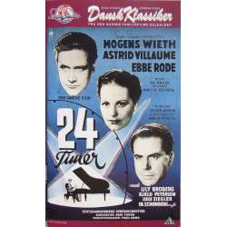 24 timer. Danish movie from 1951. No english subtitles. 1 VHS
