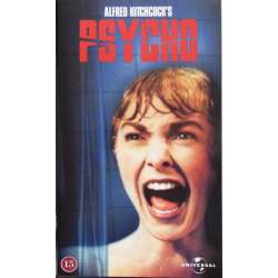 Alfred Hitchcock: Psycho. Anthony Perkins. 109 min. 1 VHS