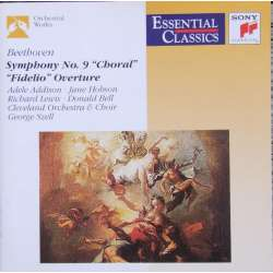 Beethoven: Symphony no. 9, George Szell, Cleveland Orchestra. 1 CD. Sony