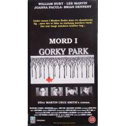 Murder in Gorky Park. William Hurt and Lee Marvin. 1 VHS