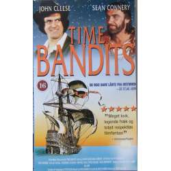 Time Bandits. John Cleese and Sean Connery. 110 min. 1 VHS