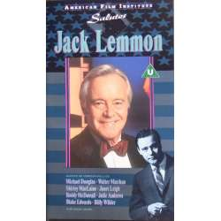 American Film Institute salutes Jack Lemmon. 1 VHS