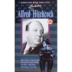 American Film Institute salutes Alfred Hicthcock. 1 VHS. Sjælden.
