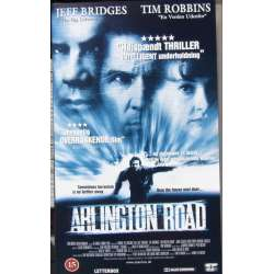 Arlington Road. Jeff Bridges og Tim Robbins. Action. 1 VHS