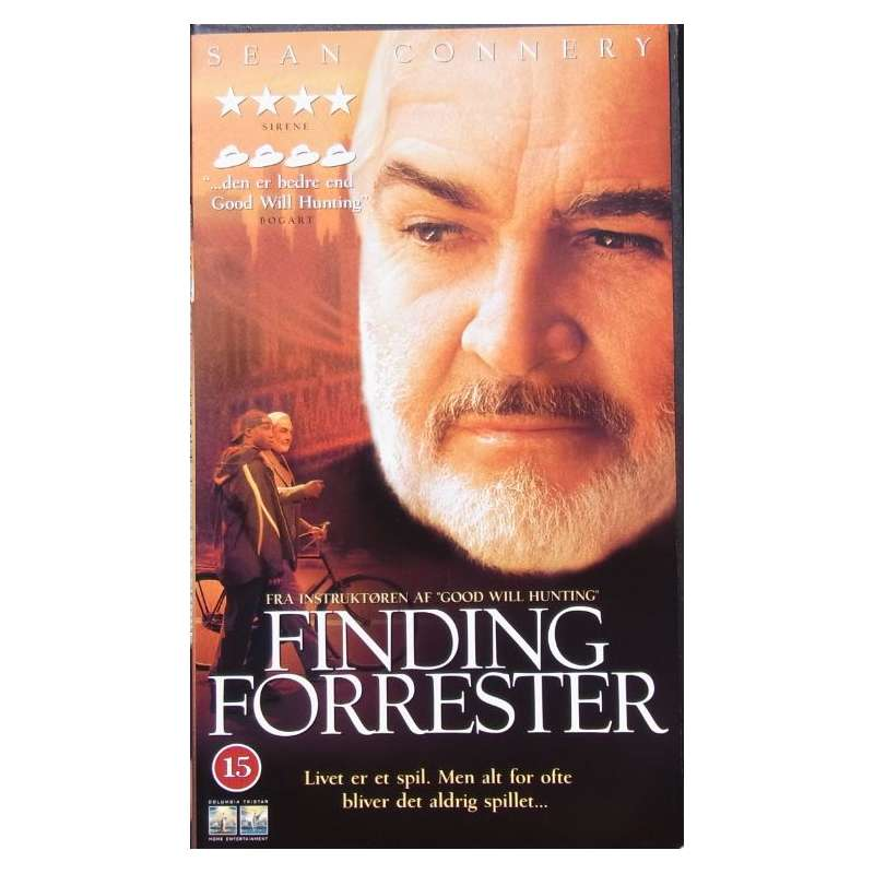 Vhs Finding Forrester Sean Connery