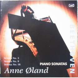 Beethoven: Piano sonatas nos. 3, 9, 18. Anne Øland. 1 CD Classico cd 326. New Copy