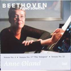 Beethoven: Piano sonatas nos. 4, 17, 22. Anne Øland. 1 CD Classico 406. New Copy.