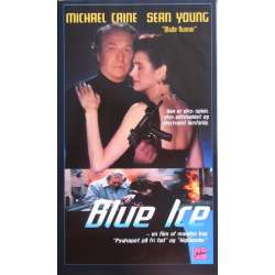 Blue Ice. Action film med Michael Caine og Sean Young. 101 min. 1 VHS