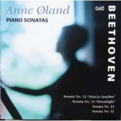 Beethoven: Piano Sonatas nos. 12, 24, 32. Anne Øland. 1 CD. Classico. New Copy