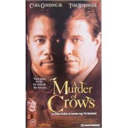 A Murder of Crows. Thriller med Cuba Gooding jr. & Tom Berenger. 98 min. 1 VHS