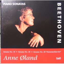 Beethoven: Piano sonatas nos. 19, 20, 29. Anne Øland. 1 CD Classico cd 446. New Copy.
