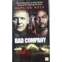 Bad Company. Action film med Anthony Hopkins og Peter Stomare. 111 min. 1 VHS
