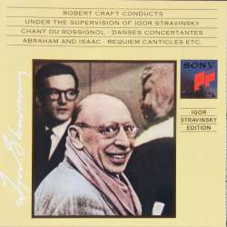 Stravinsky: Requiem & Abraham and Isaac, Epitaphium. 1 CD. Sony