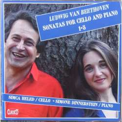 Beethoven: Cello sonatas nos. 1-5. Simca Heled, Simone Dinnerstein. 2 cd Classico. New Copy