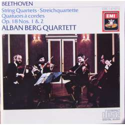 Beethoven: String Quartet. Op. 18, no. 1 & 2. Alban Berg Quartet. 1 CD. EMI