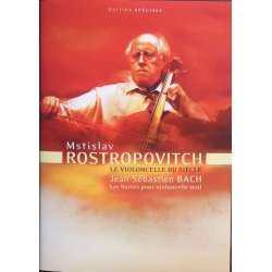 Bach: 6 Suiter for solo cello. Mstislav Rostropovich. 2 DVD. EMI